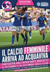 Acqua viva Calcio Femminile