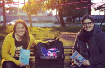 ASD Calcioinrosa Acquaviva e Piovono Libri, insieme per il sociale